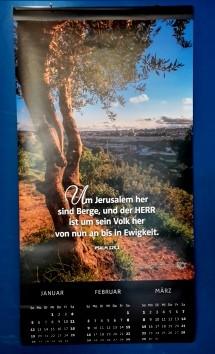 Wundervolles Israel 2020 - Großposterkalender