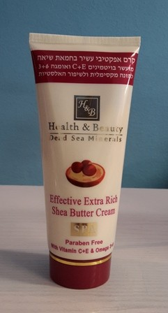H & B Extra reichhaltige Shea Butter Creme, 180 ml