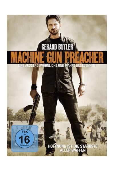 DVD, Machine Gun Preacher (Gerard Butler)