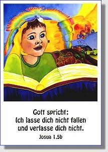 Postkarte zur Jahreslosung 2006