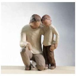 """Figur """"Vater und Sohn"""""""