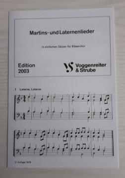 Edition 2003 - Martins - und Laternenlieder