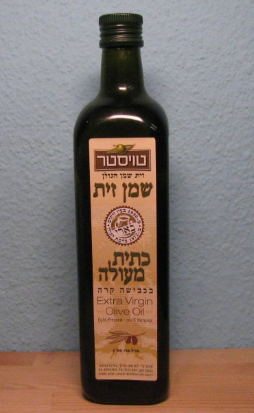 """Toister's Olivenöl - """"Extra Virgin"""" - Inhalt: 750 ml"""