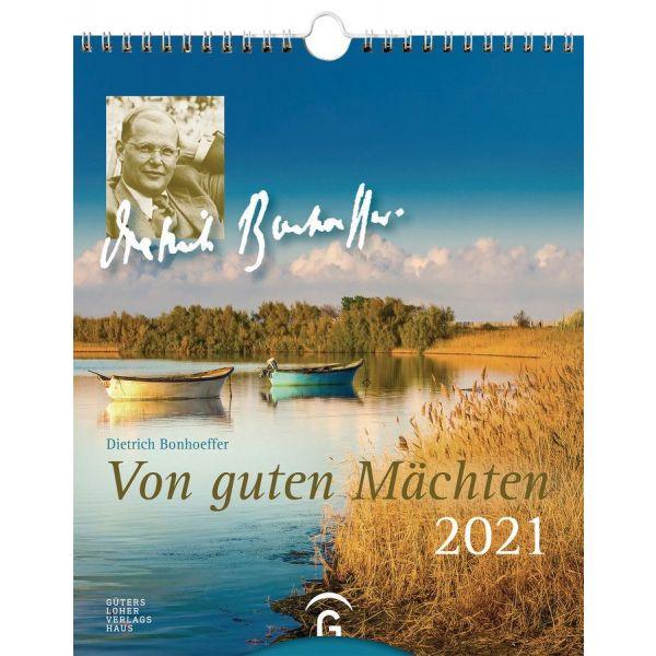 Von guten Mächten 2021 - Dietrich Bonhoeffer (Postkartenkalender)