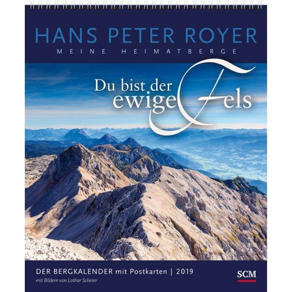 Der Bergkalender 2019 - Postkartenkalender HP Royer