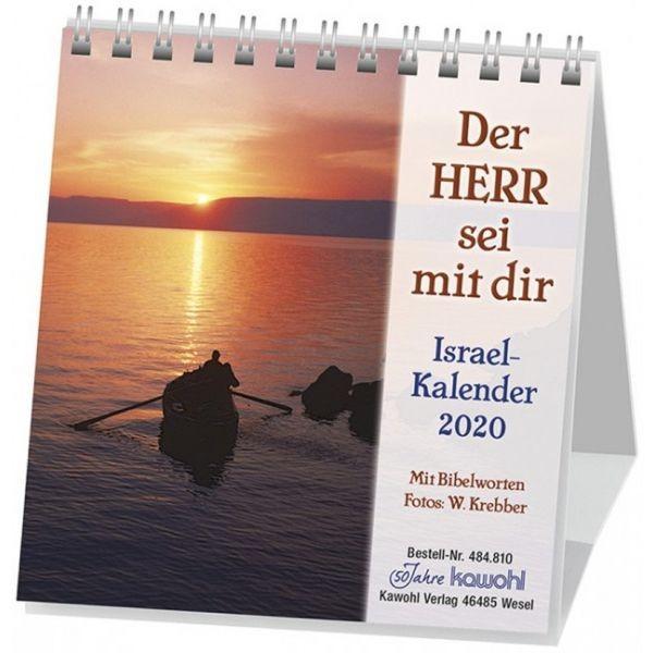Der Herr sei mit dir 2020 - Israelkalender klein
