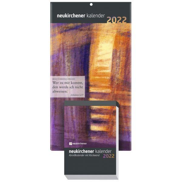 Neukirchener Abreißkalender 2022 mit Rückwand - Normalausgabe