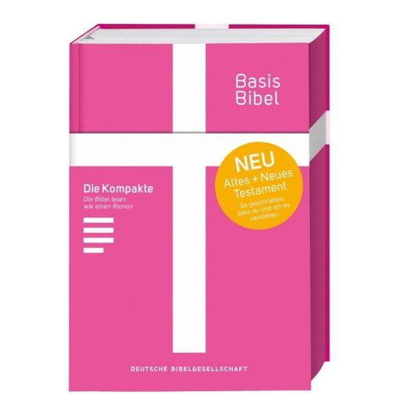 BasisBibel. AT & NT. Die Kompakte. Pink.