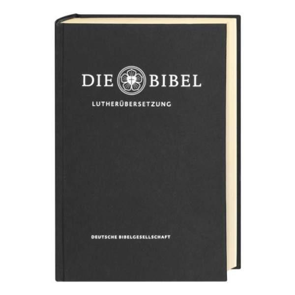 Luther 2017 Standardausgabe mit Apokryphen schwarz
