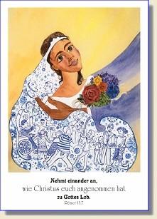 Postkarte zur Jahreslosung 2015