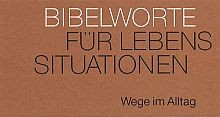 "Neujahreslose Bibelworte ""Wege im Alltag"""