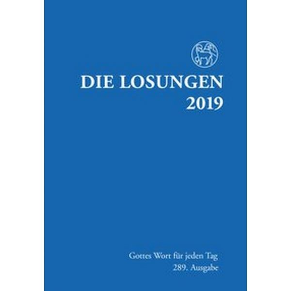 Losungen 2019, dunkelblau