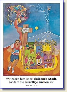 Postkarte zur Jahreslosung 2013