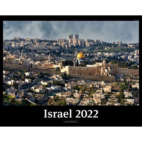 Israel 2022 Black Version - Wandkalender - (CLV)