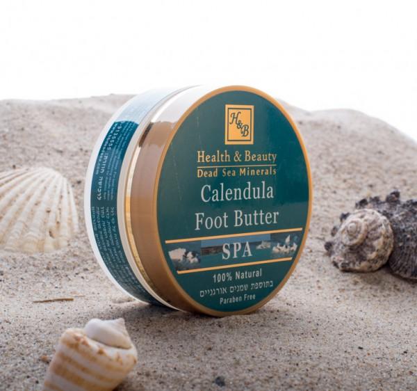 Health & Beauty - Calendula Butter für rissige Füße