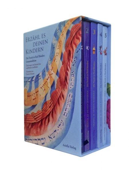 Erzähl es Deinen Kindern. Die Torah in Fünf Bänden, Gesamtedition von Hanna Liss und Bruno Landthale