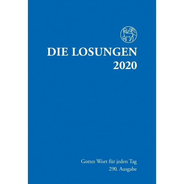 Losungen 2020, dunkelblau