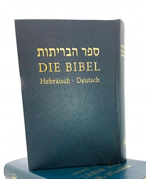 Hebräisch-Deutsch in einer Bibel - Hardcover ( Limitierte Auflage ))