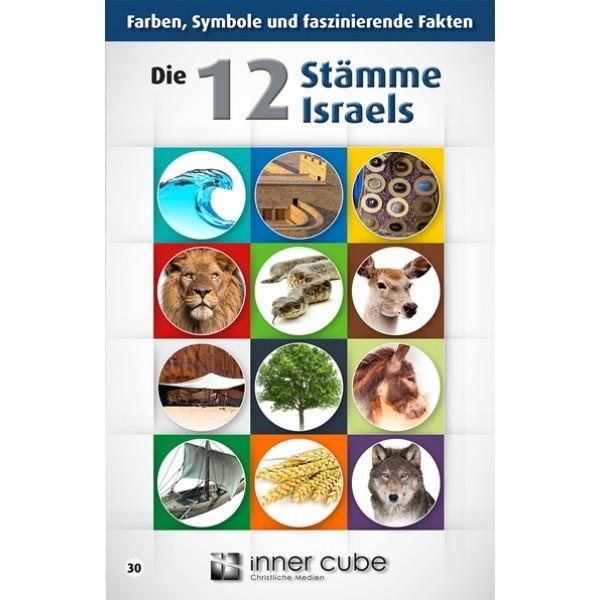 Die 12 Stämme Israels - Studienfaltkarte 30