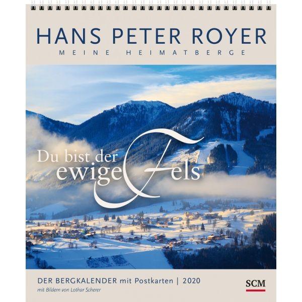 Der Bergkalender 2020 - Postkartenkalender HP Royer