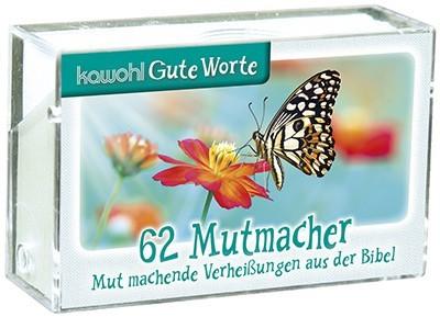 62 Bibel-Karten, Mutmacher