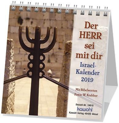 Der Herr sei mit dir 2019 - Israelkalender klein