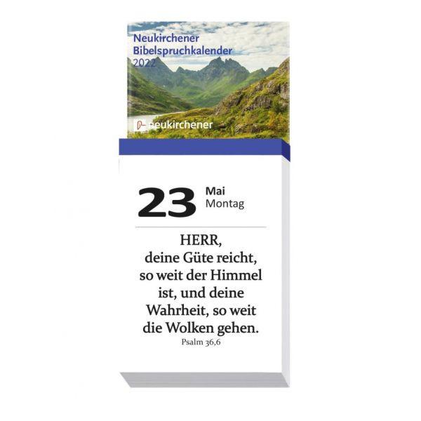 Neukirchener Bibelspruchkalender 2022 Abreißkalender
