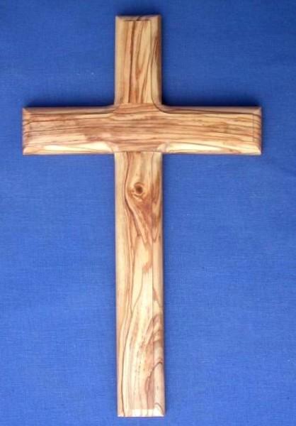 Olivenholz-Kreuz 30 cm