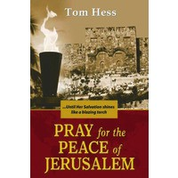 Pray for the Peace of Jerusalem (Englisch)