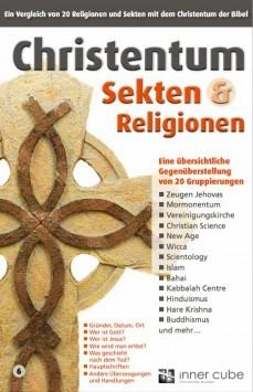 Christentum, Sekten und Religionen - Studienfaltkarte 6