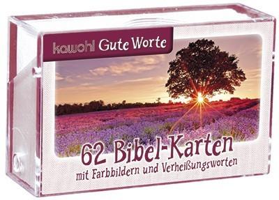62 Bibel Karten: Verheißungsworte