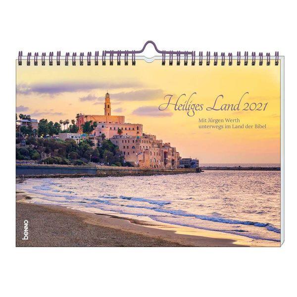 Heiliges Land 2021 - Wandkalender (Jürgen Werth)