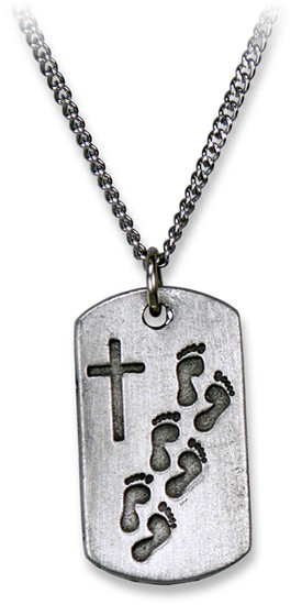 """Halskette """"Gott trägt dich"""""""