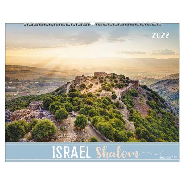 Israel Shalom 2022 (Wandkalender-Bolanz)