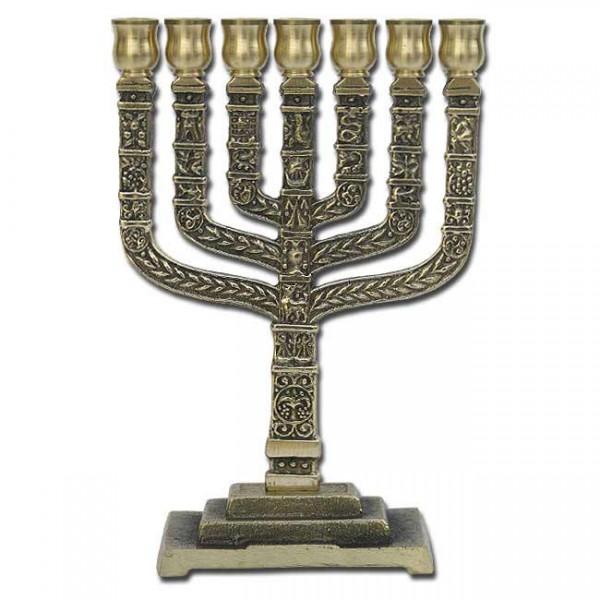 Knesset-Menorah - Höhe ca. 28 cm