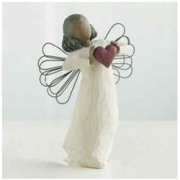 """Figur """"Engel mit Liebe"""""""