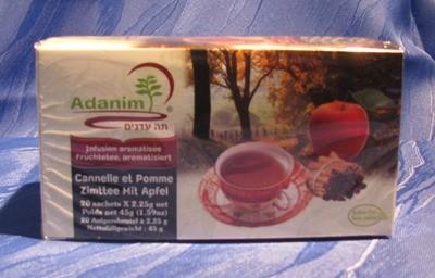 Adanim BIO-Zimt-Apfel-Tee