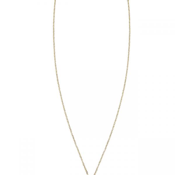 Halskette in Gold, ca. 45 cm