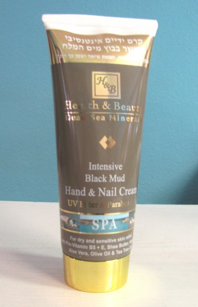 Intensive Black Mud Hand-und Nagelcreme 200 ml