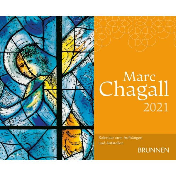 Marc Chagall 2021 - Kunstkalender