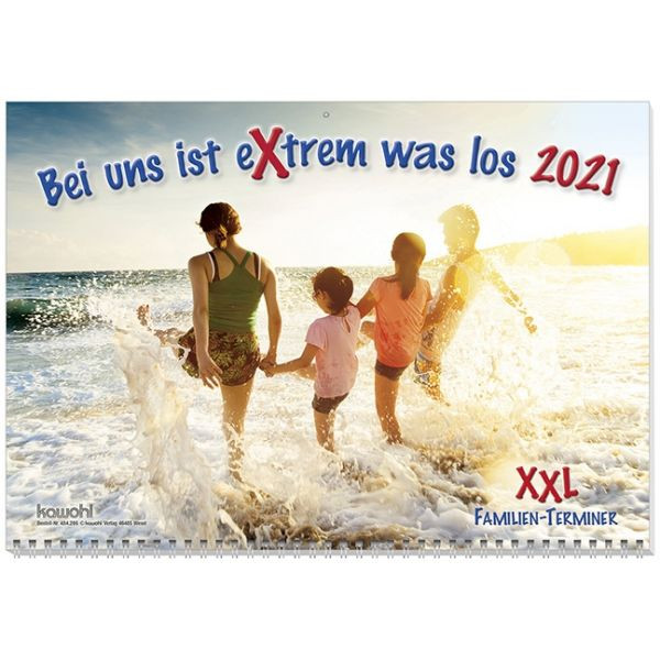 Bei uns ist eXtrem viel los XXL 2021 - Familienplaner XXL