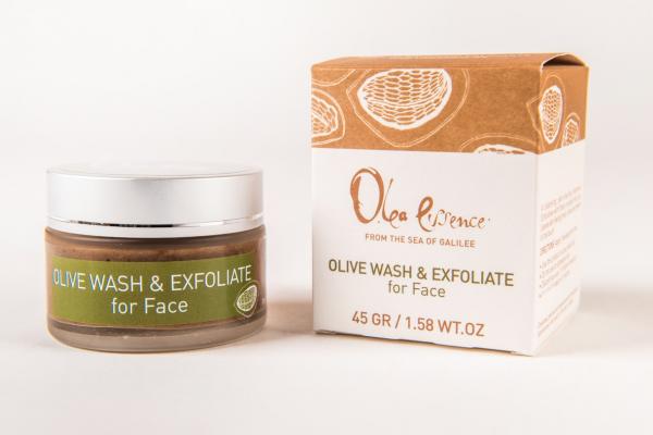 Olea Essence: Intensive Olivenöl Gesichtscreme und Peeling 3 in 1 - 50 ml