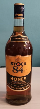 Stock 84 mit Honig - Brandy V.S.O.P. 1884 (koscher)