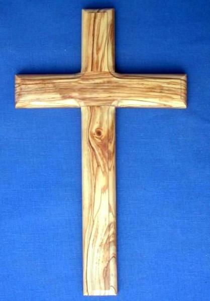 Olivenholz-Kreuz 25 cm