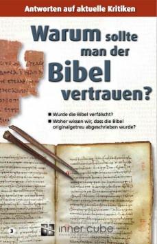 Warum sollte man der Bibel vertrauen - Studienfaltkarte 3