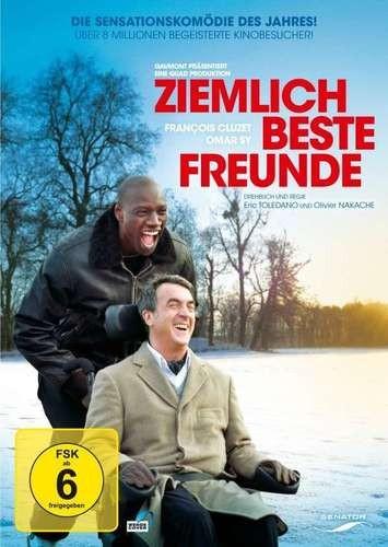 Ziemlich beste Freunde - DVD - Preis gesenkt: vorher 14,99 €