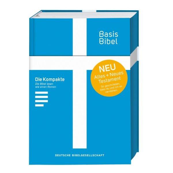 BasisBibelAT & NT. Die Kompakte. Blau.