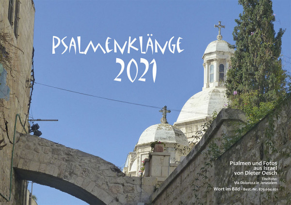 Psalmenklänge 2021 - Tischkalender