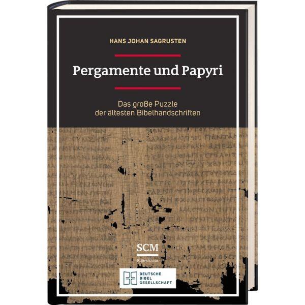 Hans Johan Sagrusten, Pergamente und Papyri