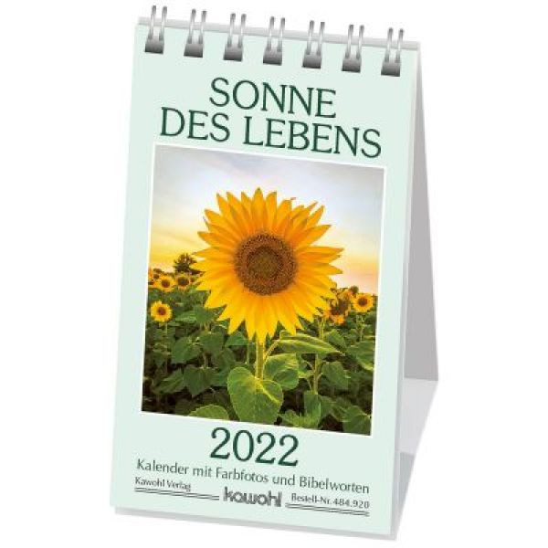 Sonne des Lebens 2022 (Minikalender)